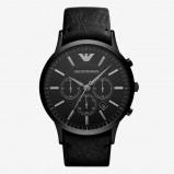 Afbeelding van Armani herenhorloge AR2461 horloge Hoge Marge Zwart