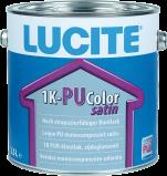 Afbeelding van Lucite 1k pu color satin 2,5 l, wit