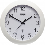 Image of Balance Time Equilibrium wall clock (Colour: white)