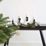 Billede af Advents tal egetræ