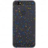 Afbeelding van Xccess Cover Spray Paint Glow Apple iPhone 4/4S Blue