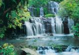 Afbeelding van Watervallen Pura Kaunui 8 delig Fotobehang 368x254cm Natuur