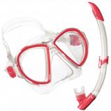 Afbeelding van Aqua Lung Sport Duetto Midi LX + Airflex Purge Snorkelset Rood