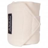 Afbeelding van Anky Bandages Basic Fleece Set van 4 Offwhite 3,5m
