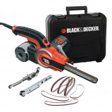 Afbeelding van Black+Decker KA902EK Powerfile Stripschuurmachine in koffer 400W 13 x 451mm