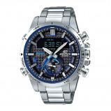 Afbeelding van Casio ECB 800D 1AEF Edifice Bluetooth horloge herenhorloge Zilverkleur