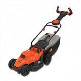 Afbeelding van Black & Decker Easysteer BEMW461ES QS Elektrische Grasmaaier Oranje/Zwart