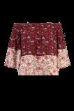 Abbildung von FSTVL by MS Mode Damen Bedruckte schulterfreie Bluse