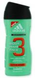 Afbeelding van Adidas Showergel man active start hair&body 250 ml