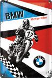 Afbeelding van BMW Motorräder 17 Metalen Wandplaat 20x30cm Wandplaten