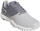 Image of Adidas Adipower 4orged men's golf shoes (Colour: dark grey/light grey, Size: 43)