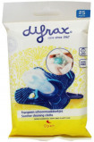 Afbeelding van Difrax fopspeen schoonmaakdoekjes (25 stuks)