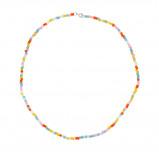 Obrázek ANNA + NINA 925 Sterling Zilveren Surreal World Coloured Dream Ketting 20 1M903003S (Lengte: 42.00 cm)