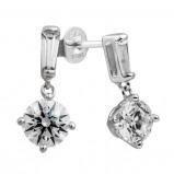 Afbeelding van Diamonfire Oorbellen Bridal zilver met zirconia 808.0081.00