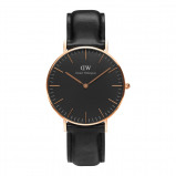 Afbeelding van Daniel Wellington Classic Black Sheffield horloge (36 MM) DW00100139 herenhorloge