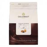 Afbeelding van Callebaut Bakvaste Chocolade Druppels L Puur 2,5 kg.