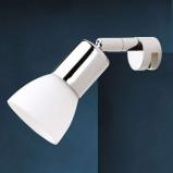 Afbeelding van Busch beweegbare spiegellamp JENNY, voor badkamer, metaal, glas, G9, 40 W, energie efficiëntie: A++, L: 17 cm, B: 5 cm