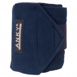 Image de Anky Bandages Basic Fleece Jeu de 4 Marin 3,5m