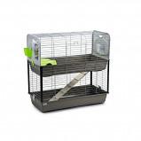 Obrázek Savic Rabbit Cage Caesar 3 Double Silver Grey 97x100x50cm