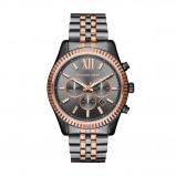 Afbeelding van Michael Kors MK8561 Lexington Chrono horloge dameshorloge Rosekleurig,Grijs