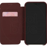 Afbeelding van Decoded Leather Slim Wallet Apple iPhone Xr Book Case Rood