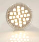 Abbildung von 10er LED Einbauleuchten Set chrom / warmweiss