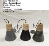 Afbeelding van Industriele lamp 0186 groen/zwart