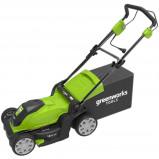 Afbeelding van Greenworks Grasmaaier elektrisch GLM1241 230 V 41 cm 2505207