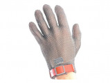 Afbeelding van Euroflex Maliënkolder Handschoen Zilvergrijs 10 Handschoenen snijbestendig
