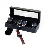 Bilde av Watchbox Black, suitable for 6 watches.