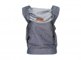 Afbeelding van Onbekend ByKay Babydrager Click Carrier Classic Dark Jeans draagzak bab