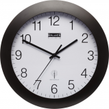Image of Balance Time Equilibrium wall clock (Colour: black)
