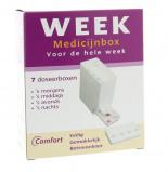 Afbeelding van Comfort Medicijnbox 7 Dagen Incl Dagverdeling, 1 stuks