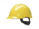 Afbeelding van 3M Peltor G3001NUV GU Veiligheidshelm met draaiknop Geel Plastic sweatband di electrisch (440V)