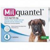 Abbildung von Wurmtabletten 12,5mg/125mg Hund Gross 2 Tabletten 5 75kg