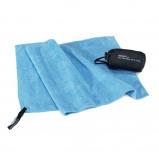 Afbeelding van Cocoon Microfiber Terry Towel Light Reishanddoek S Lichtblauw
