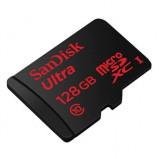 """Bild av """"128GB SanDisk Ultra MicroSDXC UHS I 80MB/s Class 10"""""""