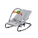 Image of Babytrold Bouncing Chair w. Toys Grey