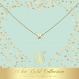 Abbildung von Heart to Get Gold Collection charm CS175STA13
