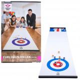 Afbeelding van Engelhart bord voor curling en shuffle wit 180 x 39 cm