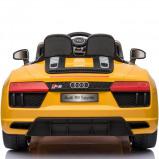Afbeelding van Audi kinderauto R8 Cabrio geel