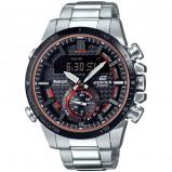Afbeelding van Casio ECB 800DB 1AEF Edifice Bluetooth horloge herenhorloge Zilverkleur