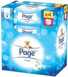Afbeelding van Page Vochtig Toiletpapier Navul Fresh 42, 168 stuks