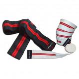 Afbeelding van Bodytrading Power Knee Support Wrap SU115Wit