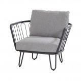 Afbeelding van 4 Seasons Outdoor Premium Loungestoel Anthracite