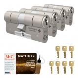 Afbeelding van Cilinderslot M&C Matrix SKG** (4 stuks)
