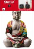 Afbeelding van Boeddha Design Muurstickers