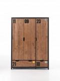 Afbeelding van Alex 3 deurs kledingkast