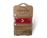 Afbeelding van Parakito Armband Design Rood met 2 tabletten, 1 stuks