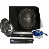 Afbeelding van Excalibur x2 trunkpack complete car audio set
